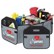 Nurses: The Heartbeat Of Healthcare 2-In-1 Trunk Organizer & Cooler