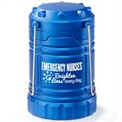 Emergency Nurses Brighten Lives Indoor/Outdoor Retractable LED Lantern with Magnetic Base