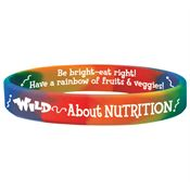 Wild About Nutrition Silicone Awareness Bracelet
