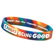 Caught Being Good 2-Sided Silicone Bracelet Achievement Award