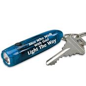 Men Who Walk With God Light The Way Turbo Key Ring Light