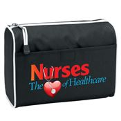 Nurses The Heart Of Healthcare Black Amenity Bag