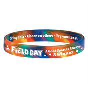 Field Day A Good Sport Is Always A Winner Silicone Bracelet