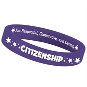 Citizenship 2-Sided Silicone Character Bracelet