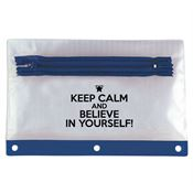 Keep Calm And Believe In Yourself! Pencil Pouch