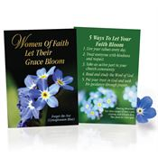 Women Of Faith Let Their Grace Bloom Full-Color Seed Packet