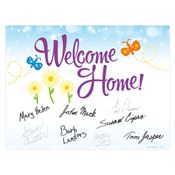 Welcome Home! Door Poster