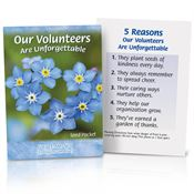 Our Volunteers Are Unforgettable Full Color Seed Packet