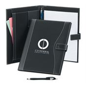 Leatherette Portfolio & Pen - Personalization Available
