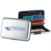 Silver Identity Guard Aluminum Wallet - Personalization Available