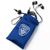 Earbuds In Pouch - Personalization Available