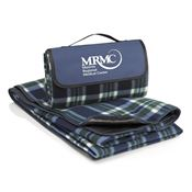 Fleece Picnic Blanket (Blue) - Personalization Available