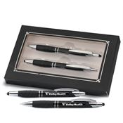 Sayville Metal Stylus Pen & Pencil Gift Set - Personalization Available