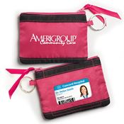 Fabric ID Wallet With Key Ring - Personalization Available