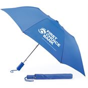 Blue Automatic Umbrella With Sleeve - Personalization Available
