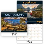 Motivations Inspired Visions 2020 Wall Calendar - Personalization Available