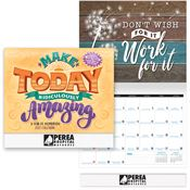 Make Today Ridiculously Amazing: A Year Of Inspiration 2020 Calendar - Personalization Available