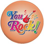 You Rock! Button