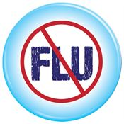 Prevent The Flu Button