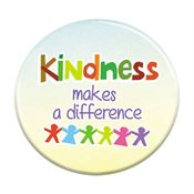 Kindness Makes A Difference Button