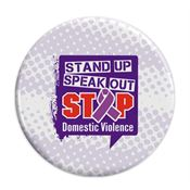 Stand Up Speak Out Stop Domestic Violence Heat-Sensitive Button