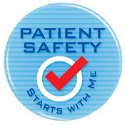 Patient Safety Starts With Me Button