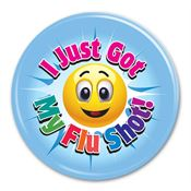 I Just Got My Flu Shot! Button