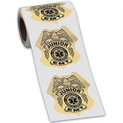 Junior EMT Gold-Foil Stickers-On-A-Roll
