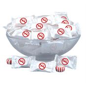 No Smoking Symbol Wrapped Mints