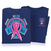 Emergency Medical Services For A Cure Short Sleeve T-Shirt - Personalized