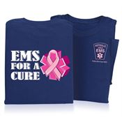 EMS For A Cure Short Sleeve T-Shirt - Personalized