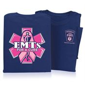 EMTs For A Cure Short Sleeve T-Shirt - Personalized