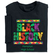 Black History Adult-Size T-Shirt - Personalization Available