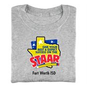 Give Your Best & Expect Success On The STAAR Adult T-Shirt With Personalization