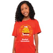 The Drug Free Force Is With Me Youth T-Shirt - Personalized