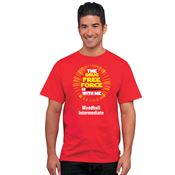 The Drug Free Force Is With Me Adult T-Shirt - Personalized