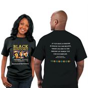 Black History: Remember, Educate, Celebrate 2-Sided Adult T-Shirt - Personalization Available