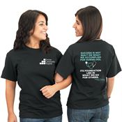 Success Is Not Built On What We Accomplish For Ourselves... 2-Sided T-Shirt