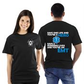 Save One Life And You're A Hero...EMS Bragging Rights Short-Sleeve T-Shirt