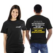We Are Dispatchers 2-Sided Short-Sleeve T-Shirt With Personalization