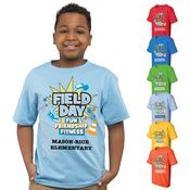 Field Day Youth 100% Cotton Full Color T-Shirt - Personalization Available