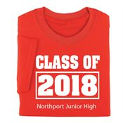 Adult Class Of T-Shirt - Personalization Available