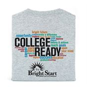 College Ready Adult T-Shirt With Personalization