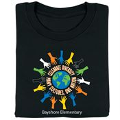 Celebrate Diversity: Many Cultures, One Nation Youth Positive T-Shirt - Personalization Available