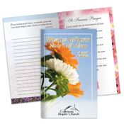 Women Of Faith Never Walk Alone Prayer Journal - Personalization Available