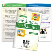 Finding The Right Balance Handbook - Personalization Available