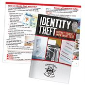Identity Theft: Protect Yourself, Know What To Do Handbook - Personalization Available
