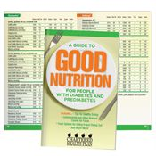 A Guide To Good Nutrition For People With Diabetes And Prediabetes Handbook - Personalization Available