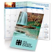 John 3:16 2019 Words To Live By Christian Monthly Pocket Planner - Personalization Available