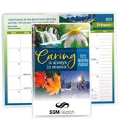 2019 Caring Is Always In Season Deluxe Monthly Planner - Personalization Available